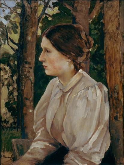 Portrait of Tatyana Viktorovna Vasnetsova, The-Viktor Mikhaylovich Vasnetsov-Giclee Print