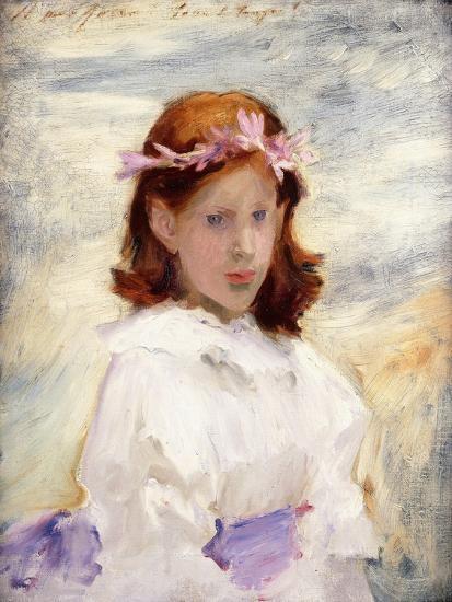 Portrait of Teresa Gosse, 1885-John Singer Sargent-Giclee Print