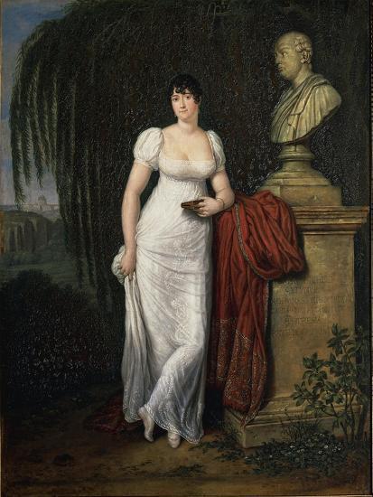 Portrait of Teresa Monti Pichler, Wife of Poet Vincenzo Monti by Carlo Labruzzi--Giclee Print