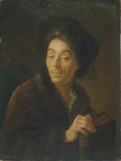 Portrait of the Actor Yakov Danilovich Shumsky (1732-181), 1760-Anton Pavlovich Losenko-Giclee Print