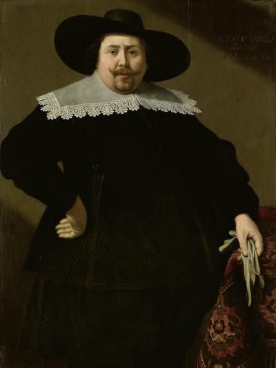 Portrait of the Amsterdam Brewer Philips Denijs-Huygh Pietersz Voskuyl-Art Print
