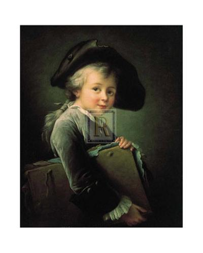 Portrait of the Artist as a Young Man-Francois Hubert Drouais-Art Print