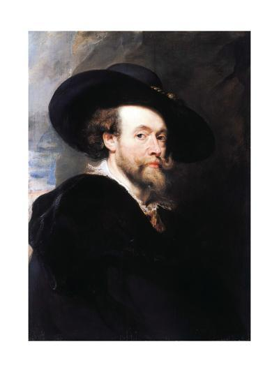 Portrait of the Artist by Peter Paul Rubens--Giclee Print