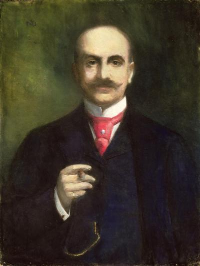 Portrait of the Artist-Lesser Ury-Giclee Print