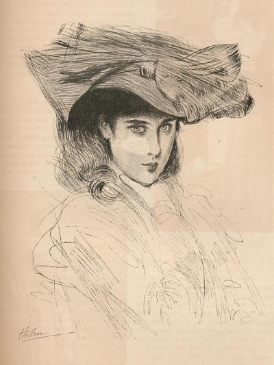 Portrait of the Artists Daughter, C1879-1903, (1903)-Paul Cesar Helleu-Giclee Print