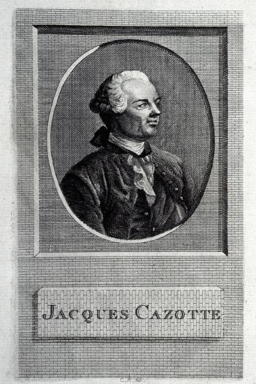 Portrait of the Author Jacques Cazotte (1720-179)--Giclee Print