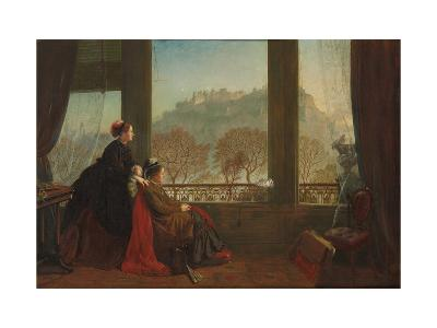 Portrait of the Baroness Burdett Coutts and Her Companion Mrs. Brown, Edinburgh, 1874--Giclee Print