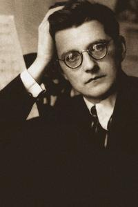 Portrait of the Composer Dmitri Shostakovich (1906-1975), 1940s