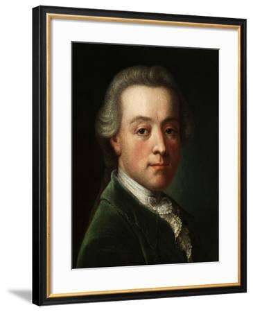 Portrait of the Composer Wolfgang Amadeus Mozart (1756-179), C. 1789--Framed Giclee Print