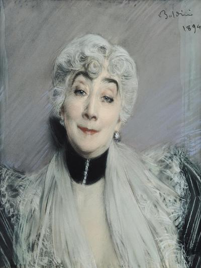 Portrait of the Countess De Martel De Janville, Known as Gyp (1850-1932), 1894-Giovanni Boldini-Giclee Print