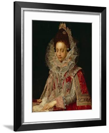 Portrait of the Duchess Magdalena, C.1613-Peter Candid-Framed Giclee Print