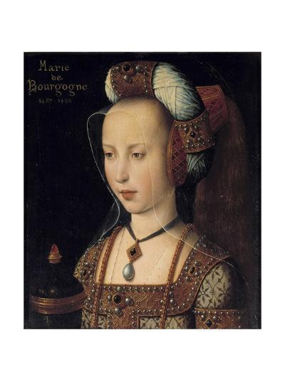 Portrait of the Duchess Mary of Burgundy--Giclee Print