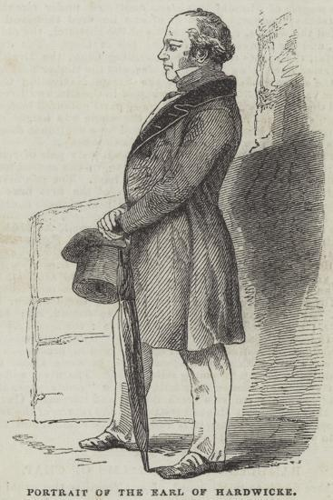 Portrait of the Earl of Hardwicke--Giclee Print