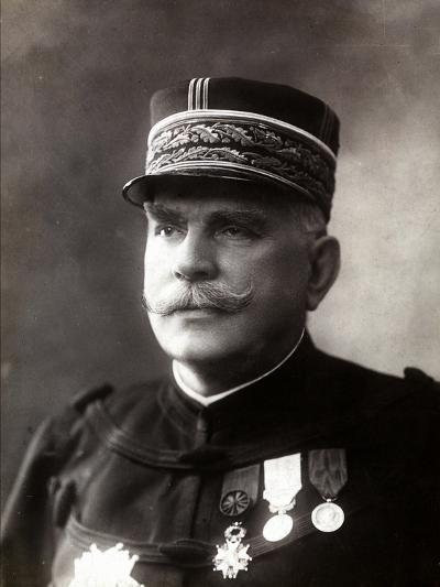 Portrait of the Gen. Joffre, Senior Officer of the French Army--Photographic Print