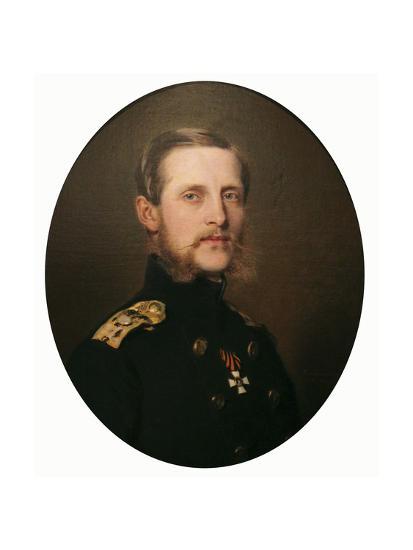 Portrait of the Grand Duke Konstantin Nikolaevich, 1859-Franz Xaver Winterhalter-Giclee Print