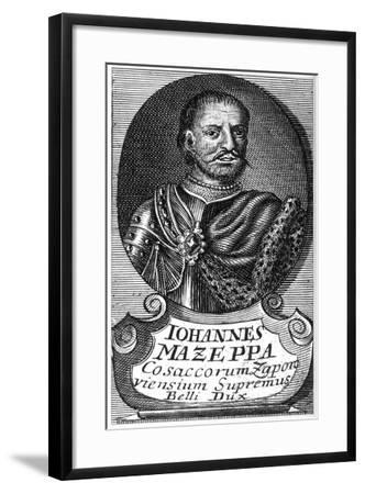 Portrait of the Hetman Ivan Mazepa (1639-170), Early 18th C--Framed Giclee Print