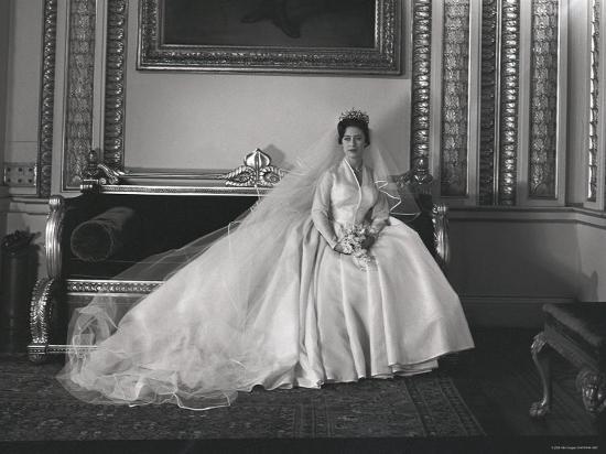 Princess Margaret Wedding.Portrait Of The Late Princess Margaret On Her Wedding Day Photographic Print By Cecil Beaton Art Com