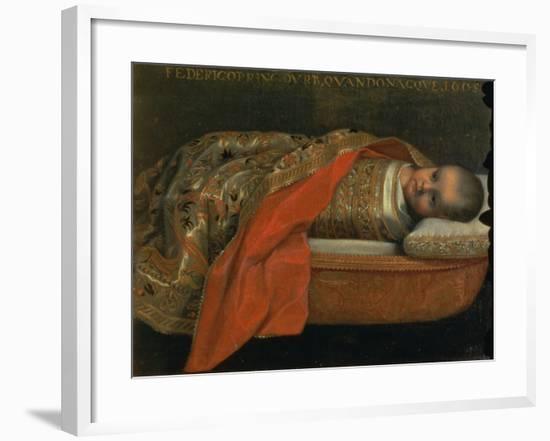 Portrait of the Newborn Federigo Di Urbino, 1605-Federico Barocci-Framed Giclee Print