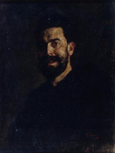 Portrait of the Opera Singer Francisco D?Andrade (1859-192), 1885-Valentin Alexandrovich Serov-Giclee Print