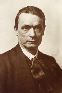 Portrait of the Philosopher and Esotericist Rudolf Steiner