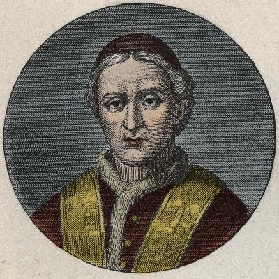 Portrait of the Pope Leo XII-Stefano Bianchetti-Giclee Print