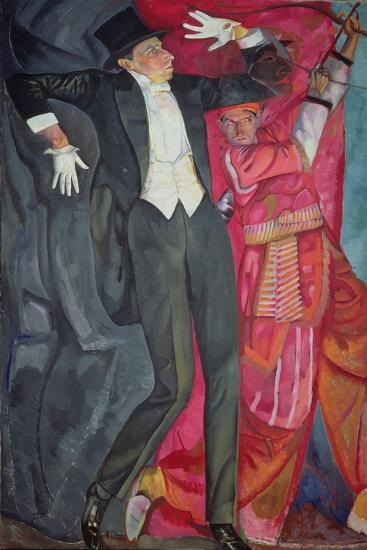 Portrait of the Producer Vsevolod Emilievich Meyerhold (1874-1940) 1916-Boris Dmitrievich Grigoriev-Giclee Print