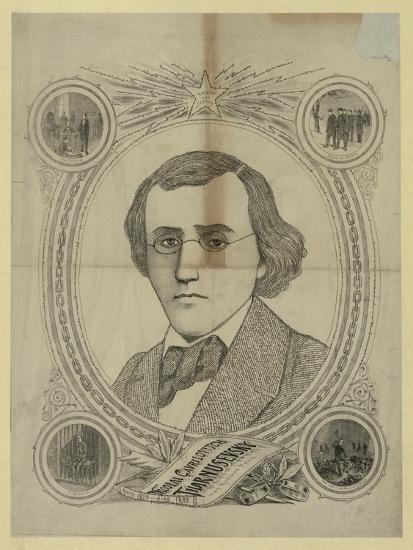Portrait of the Revolutionary Democrat Nikolay Chernyshevsky (1828-188), 1890s--Giclee Print