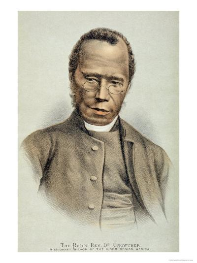 Portrait of the Right Reverend Dr. Samuel Adjai Crowther--Giclee Print