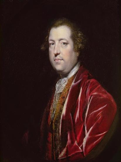 Portrait of the Rt. Hon. Charles Townshend MP (1725-67), C.1765-67-Sir Joshua Reynolds-Giclee Print