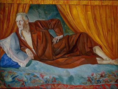 Portrait of the Singer Fyodor I. Shalyapin (1873-193), 1918-Boris Dmitryevich Grigoriev-Giclee Print