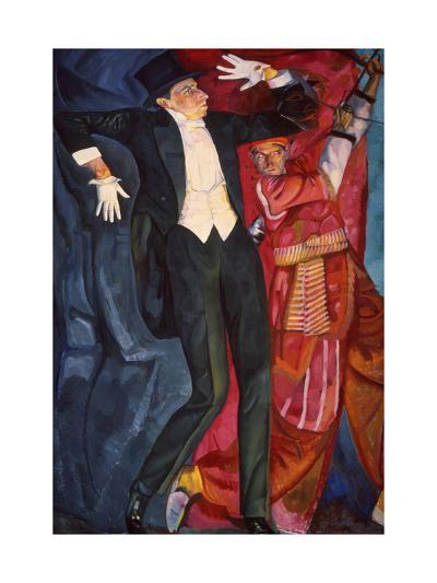 Portrait of the Stage Producer Vsevolod Meyerhold, 1916-Boris Grigor'yev-Giclee Print