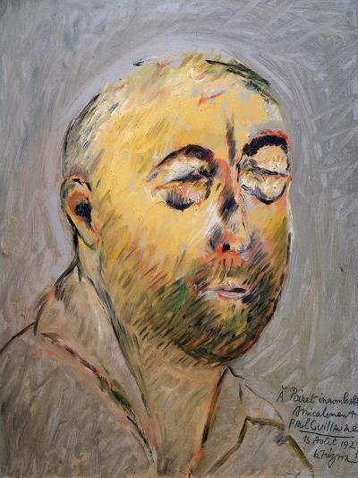 Portrait of the Tailor Paul Poiret, 1927-Paul Guillaume-Giclee Print