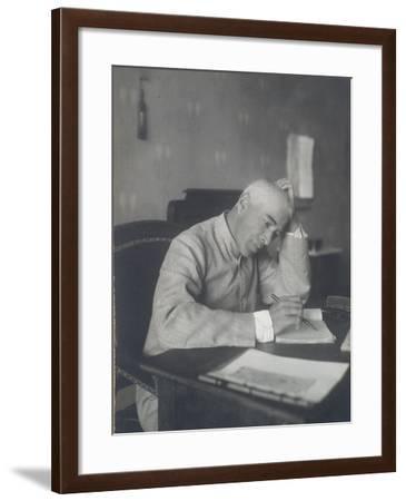 Portrait of the Theatre Director Constantin Stanislavski--Framed Photographic Print