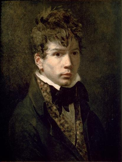 Portrait of the Young Ingres 1790s-Jacques-Louis David-Giclee Print