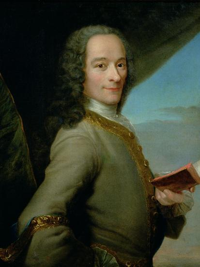 Portrait of the Young Voltaire (1694-1778)--Giclee Print