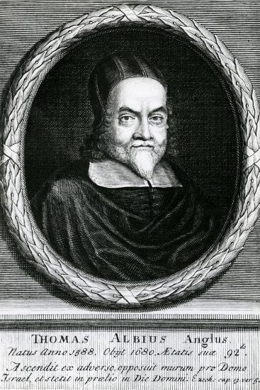 Portrait of Thomas Albius (White) (1588-1680), 1713-George Vertue-Giclee Print