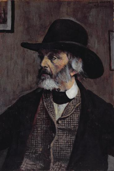 Portrait of Thomas Carlyle (1795-1881) C.1879-Walter Greaves-Giclee Print