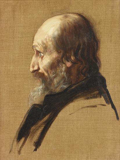 Portrait of Thomas Dixon, 1879-Alphonse Legros-Giclee Print