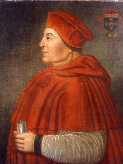 Portrait of Thomas Wolsey, Cardinal of York, C.1675--Giclee Print