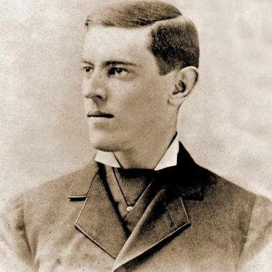 Portrait of Thomas Woodrow Wilson, 1878--Photographic Print