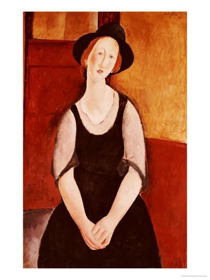 Portrait of Thora Klinckowstrom-Amedeo Modigliani-Giclee Print