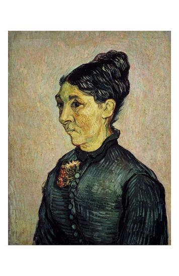 Portrait of Trabuc's Wife-Vincent van Gogh-Art Print