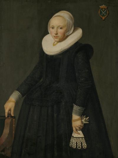 Portrait of Trijntje Tijsdr Van Nooij-Nicolaes Eliasz Pickenoy-Art Print
