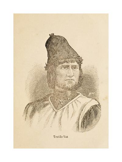 Portrait of Tristao Vaz Teixeira--Giclee Print