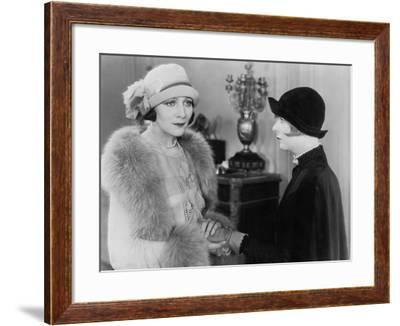 Portrait of Two Women Friends--Framed Photo