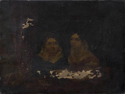 Portrait of Two Women--Giclee Print