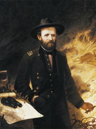 Portrait of Ulysses Simpson Grant--Giclee Print