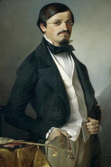 Portrait of Unknown, 1851-Felice Cerruti Beauduc-Giclee Print