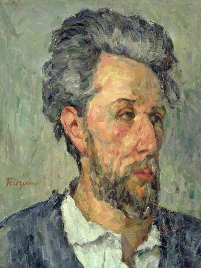 Portrait of Victor Chocquet, 1876-77-Paul C?zanne-Giclee Print