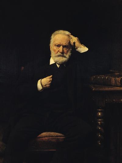 Portrait of Victor Hugo (1802-85) 1879-Leon Joseph Florentin Bonnat-Giclee Print